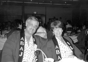 Bob & Millie at Japanese Congress (1990)
