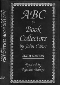 Oak Knoll's first printing of ABC