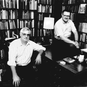 Bob and John at 414 Delaware Street