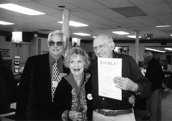 Bob with Gloria Stuart and Henry Morris at Fest VII