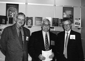 John, Bob & David Way at the London Book Fair