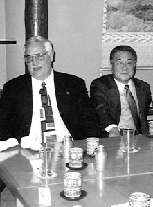 Bob & Mitsuo Nitta in Tokyo