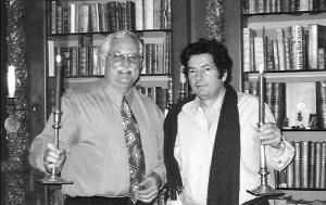 Bob with Kostas Staikos