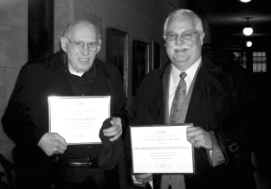 Henry Morris and Bob with their APHA awards