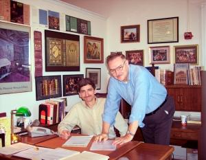 John with Mark Parker Miller