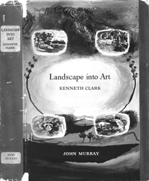 Cover of Lanscape into Art designed by Graham Sutherland